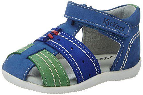 Kickers Bigbazar, Sandales  Bout ouvert garçon  http://www.123bonsplans.fr/produit/kickers-bigbazar-sandales-bout-ouvert-garcon/