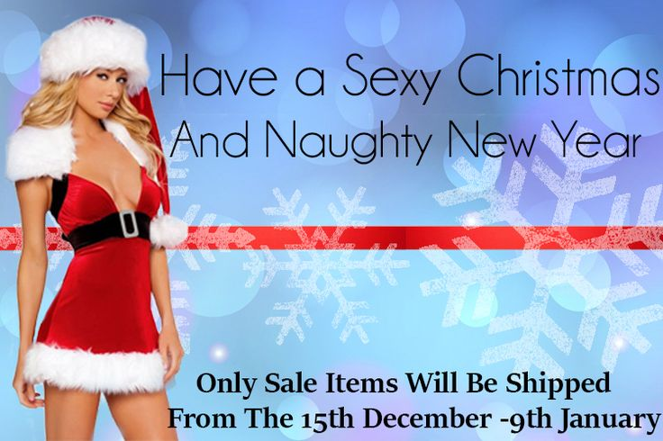 The Festive Season is almost here!  Sex Toy Shop SA will only be Shipping Sale Items from the 15th December - 9th January 2017.  #sexychristmas #merrychristmas