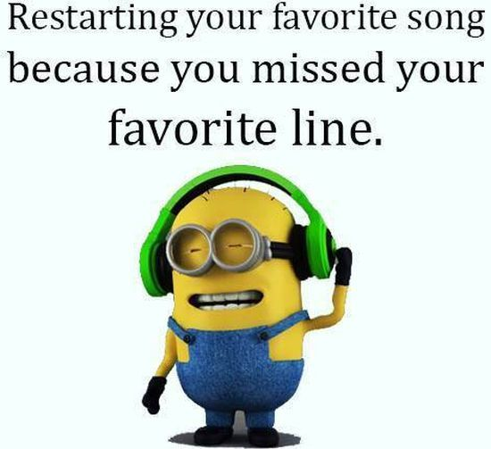 Funny Quotes On Music Lovers : best Funny Music Quotes on Pinterest Minions funny hilarious, Funny ...