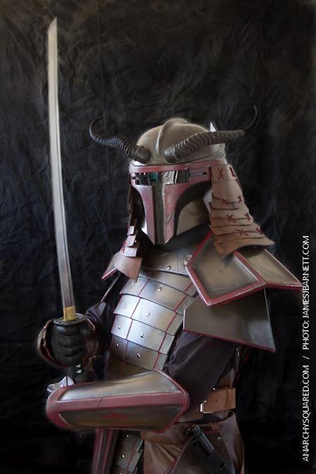 STAR WARS Boba Fett Samurai Armor