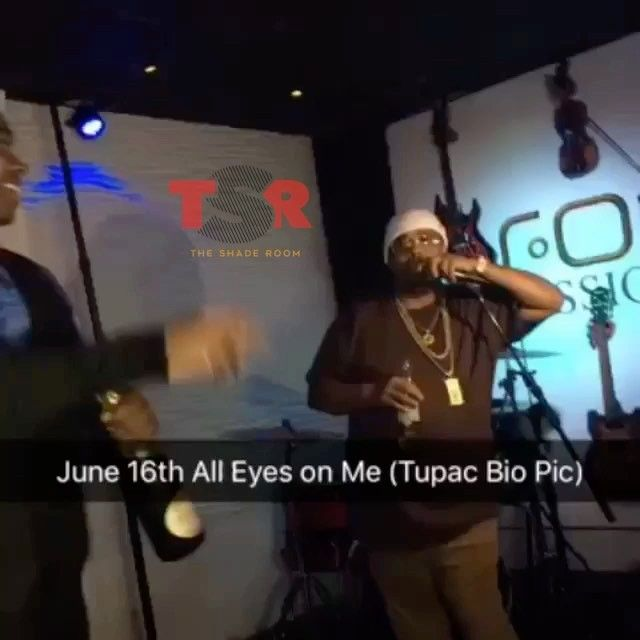 #PressPlay: Looks like the highly anticipated #Tupac biopic #AllEyezOnMe finally got a release date!!! Producer #LTHutton confirms it will drop on June 16th... Pac's birthday!!!