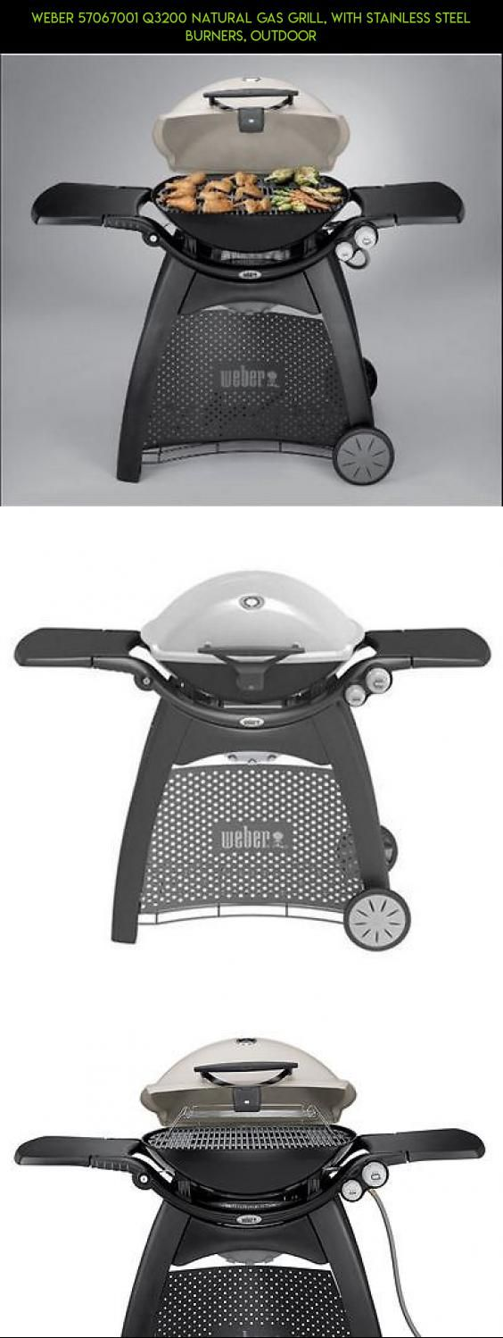 Weber 57067001 Q3200 Natural Gas Grill, with Stainless Steel burners, outdoor #plans #gadgets #kit #racing #gas #products #parts #weber #technology #fpv #grills #shopping #drone #camera #tech #natural