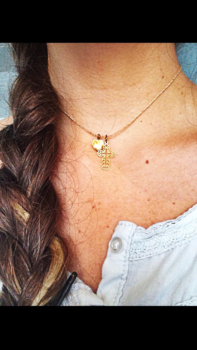 #collar #cruz by Santa Accesorios