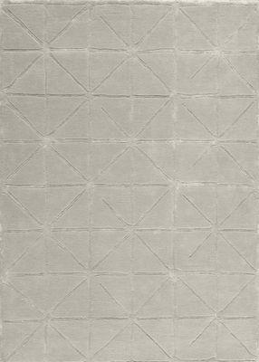 Tapis Gravity / 170 x 240 cm - Tufté main Beige argenté - Toulemonde Bochart 682€ MADE IN DESIGN