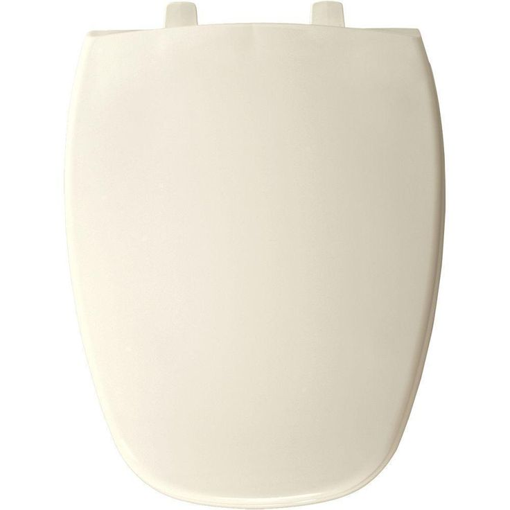 Bemis Elongated Closed Front Toilet Seat (Dusty Rose), Pink