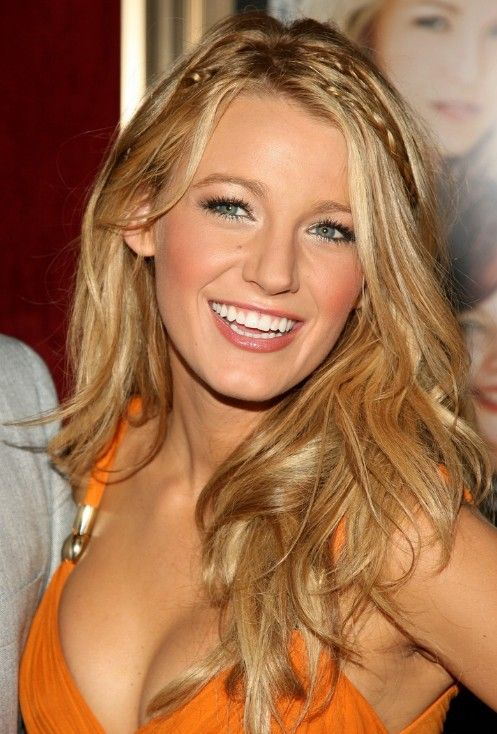 Blake Lively Hair | Picture of Blake Lively Long Blonde Hairstyles @ hairstylesweekly.com
