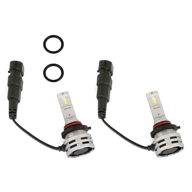 For Philips Hb3 Hb4 Led Ultinon Essential G2 Car White Headlight Bulb 6500k 24w 2pcs Headlight Bulbs Led Philips