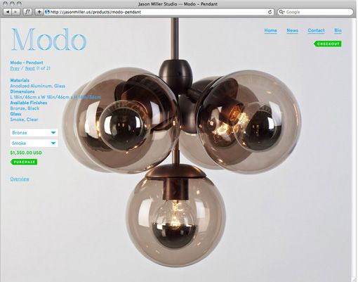 Modern chandelier: Chandelier, Pendants, Lighting, Globes, Modo Pendant, Pendant Lights, Products, Jason Miller
