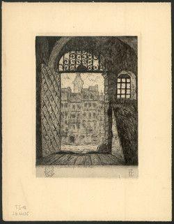 Cieślewski, Tadeusz (1895-1944) [Brama staromiejska]