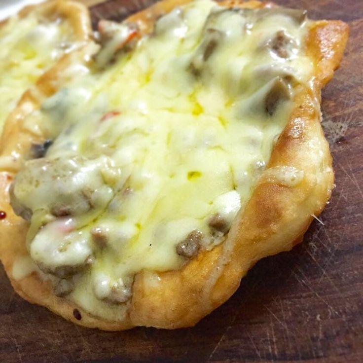White Sauce Base Pizza