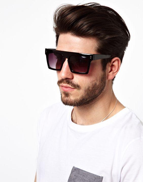 Os Óculos Masculinos que estão em alta pra 2016   Cortes de cabelo    Sunglasses, Mens style guide e Mens sunglasses 86dd9d523f