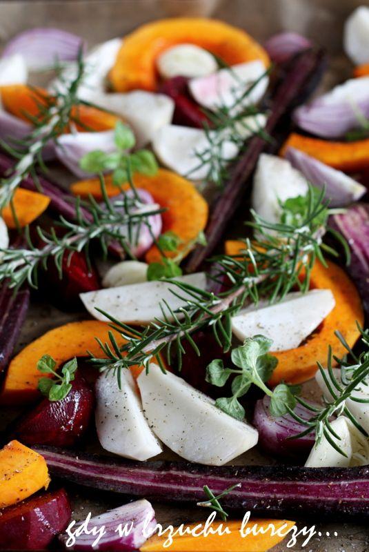 Warzywa z piekarnika