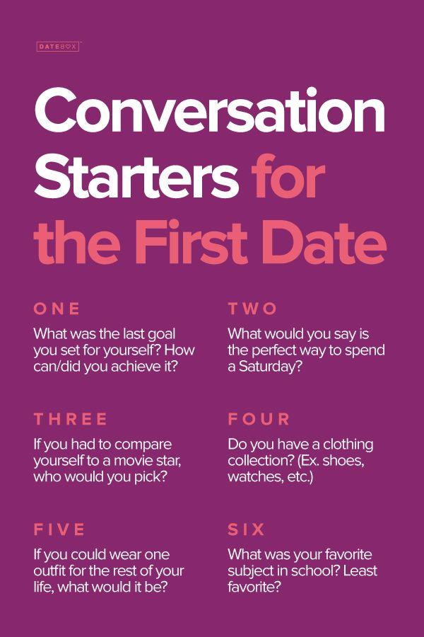 good dating conversations