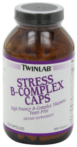 Twinlab Stress B-Complex Caps with Vitamin C, 250 Capsules   Multi City Health  List Price: $41.95 Discount: $25.96 Sale Price: $15.99