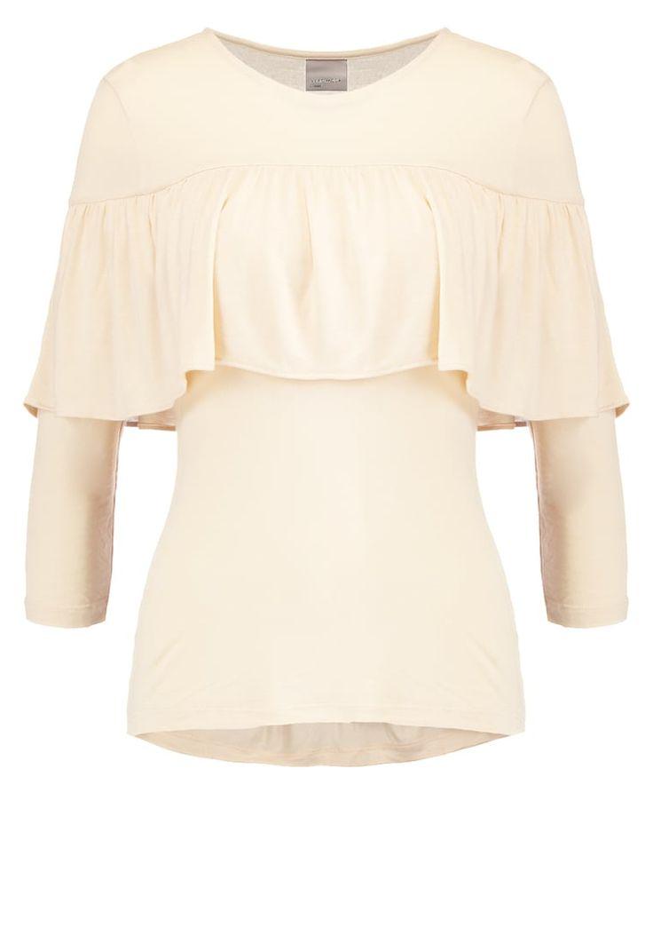 Vero Moda VMJAYDE - Bluzka z długim rękawem - ivory cream za 89,1 zł (22.10.16) zamów bezpłatnie na Zalando.pl.