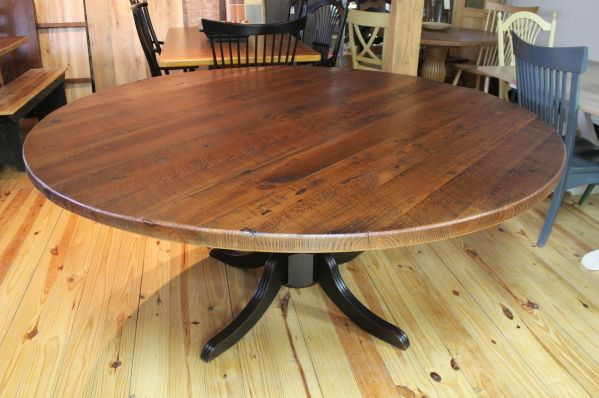 72 Round Oak Farm Table Tables Amp TV Consoles Pine