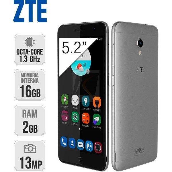 ZTE Blade V7 4G #móvil #smartphone #ZTE #gris https://www.intertienda.es/tienda/moviles/zte-blade-v7-4g/