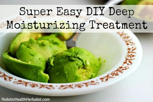 Super Easy DIY Deep Moisturizing Treatment