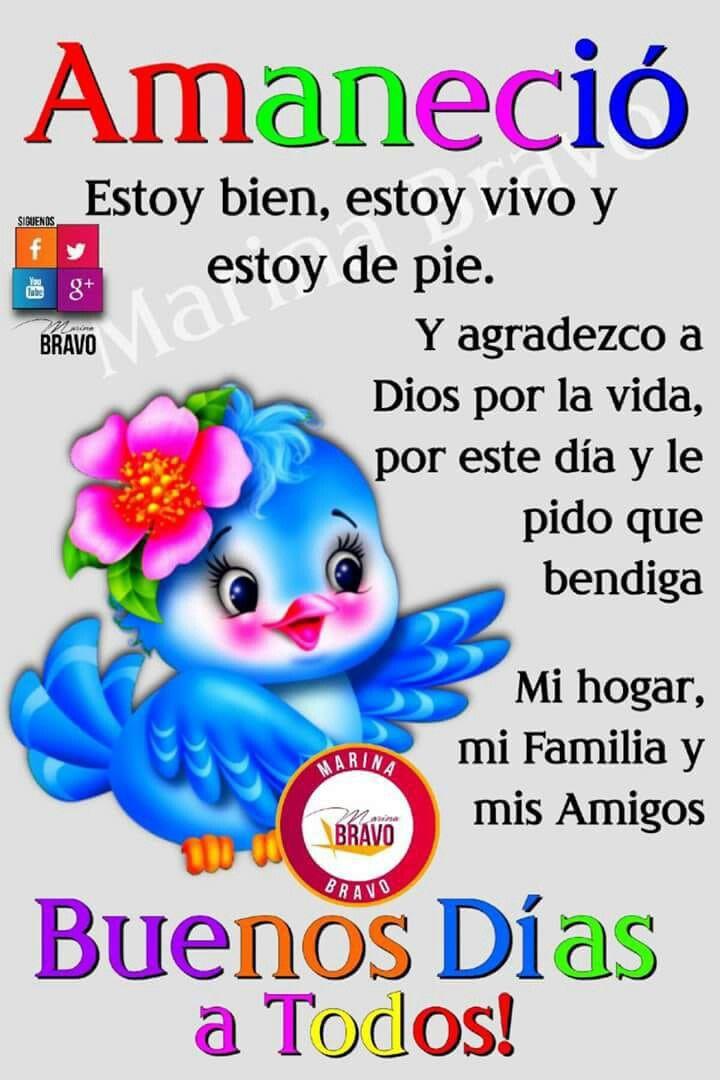 Buenos Días Familia Dios Los Bendiga Que Tengan Un Lindo Y