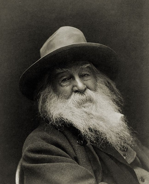 Ahhh! the words of Walt Whitman.