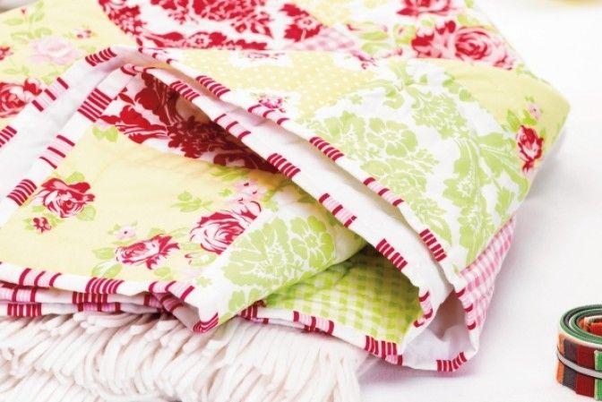 Bonus project – patchwork quilt