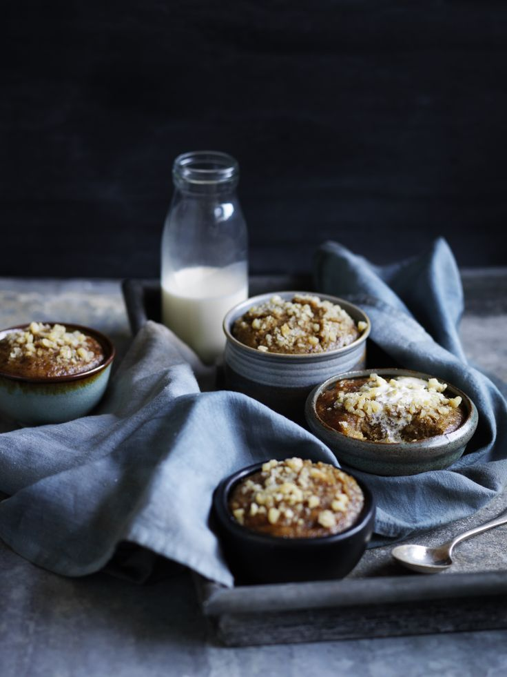 Banana date puddings p.190 | Thermomix cookbook | Something for Everyone