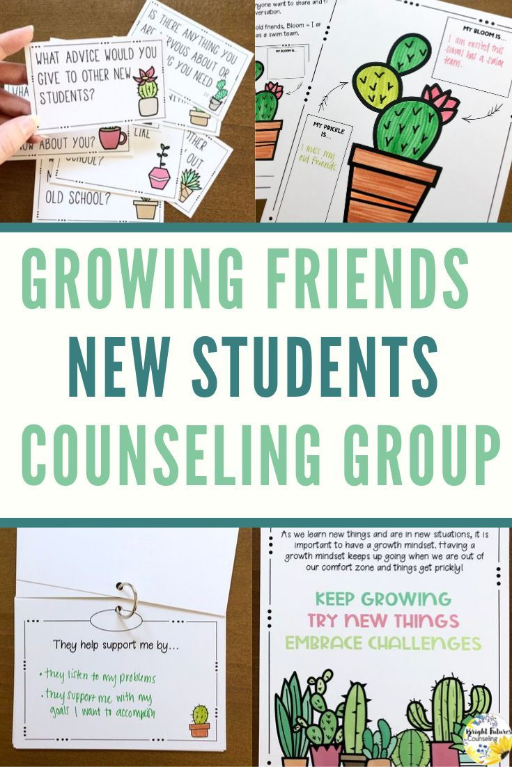New Students Friendship Group Growing Friends Counseling Group