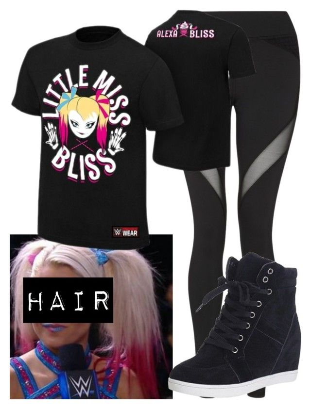 """""""Alexa Bliss!!!!"""" by carmellahowyoudoin ❤ liked on Polyvore featuring Michi, WWE and alexabliss"""