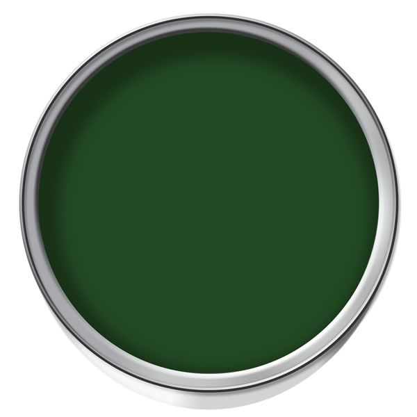 Wilko Gloss Non Drip Evergreen 750ml Interior Or Exterior Wood Or Metal Oil Based