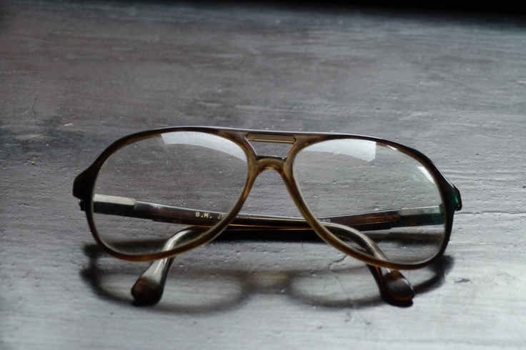 Nerdy 70's Hipster Aviator Glasses by MsVintageLove on Etsy, $37.00