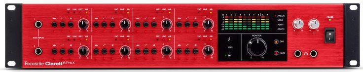Focusrite Clarett 8PreX Audio Recording Interface