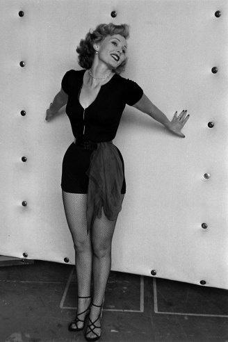 Zsa Zsa Gabor, California, 1951.