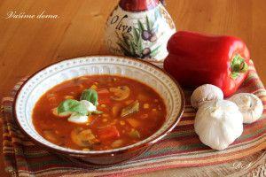 Maďarská kukuřičná polévka