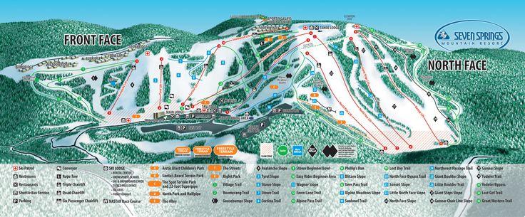 Slopes & Trails | PA Pennsylvania Ski Resort | Four Season Resort | Seven Springs Mountain Resort |