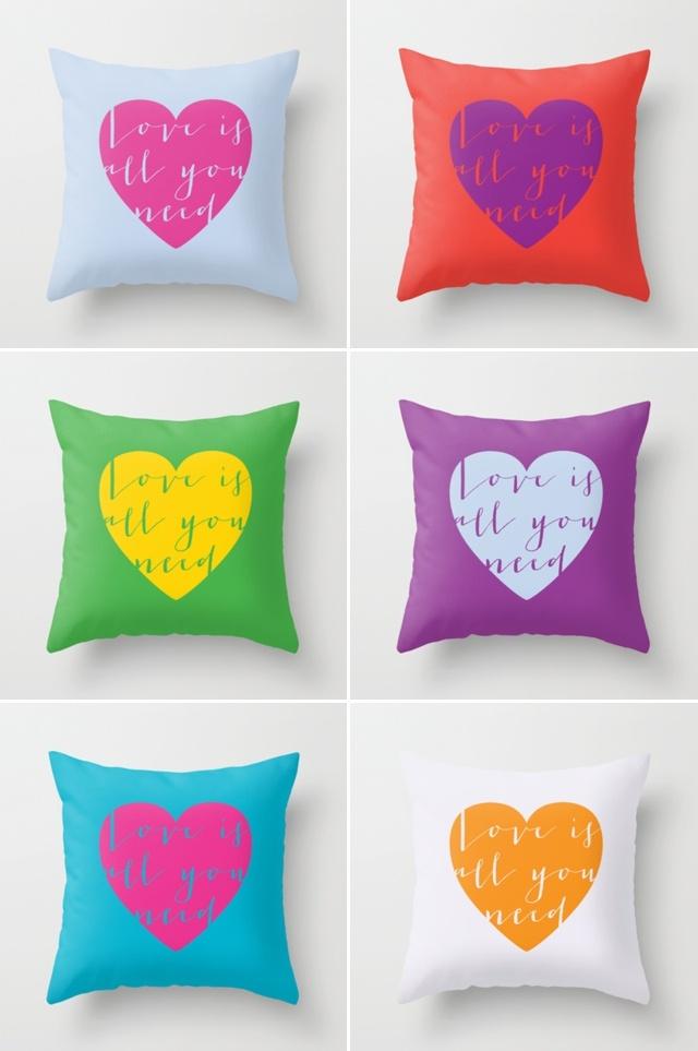 // Love cushions