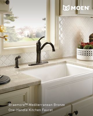 Best Kitchen Sinks Faucets Accessories Images On Pinterest - Moen castleby bathroom faucet for bathroom decor ideas