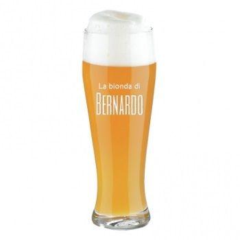 Bicchiere da birra personalizzato con nome