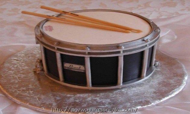 Drum Birthday Cake Ideas Picture