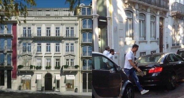 Posee un departamento sobre la avenida Liberdade en el centro de Lisboa, capital de Portugal  - Es considerada una de las 35 ciudades más caras del planeta. Dicho inmueble le costó 2 millones de euros
