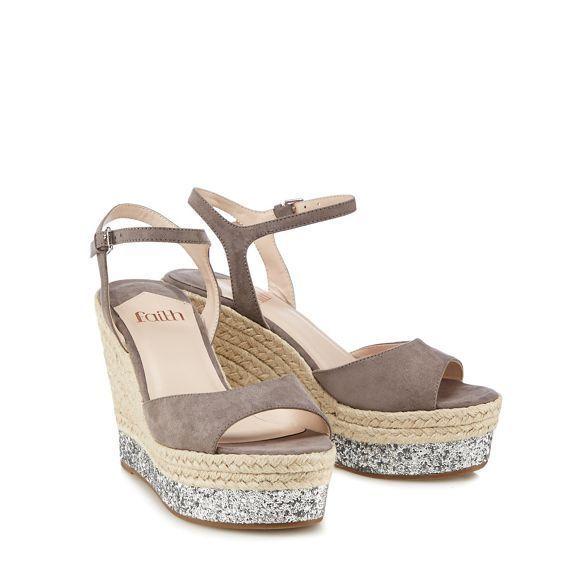 Faith LIDDY - High heeled sandals - grey