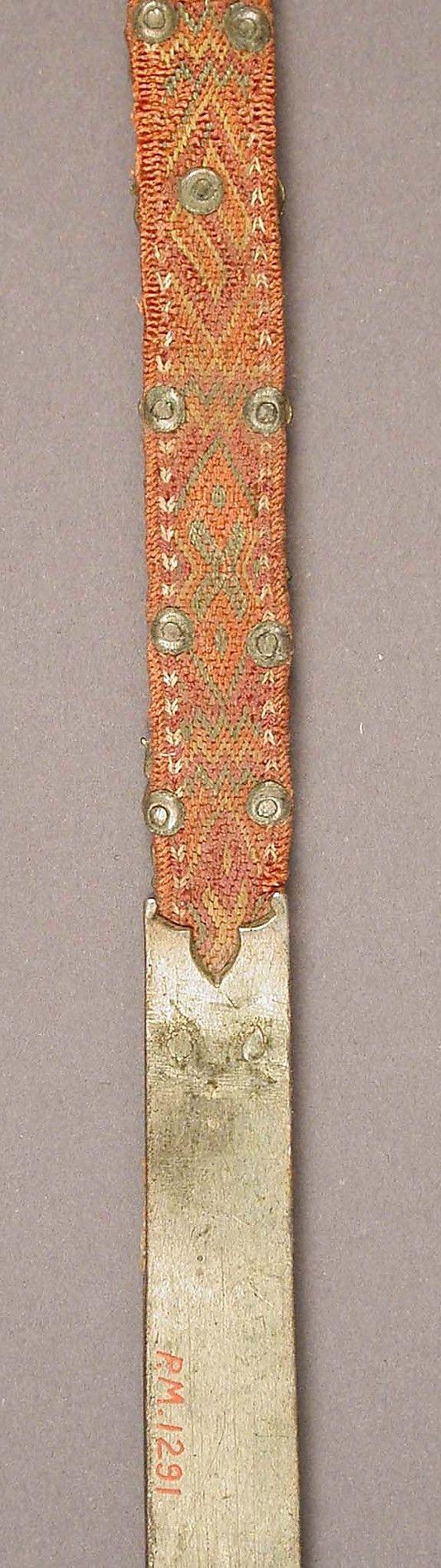 Girdle with Profiles of Half-Length Figures Ca. 1400 Italian    Date:      ca. 1400  Culture:      Italian