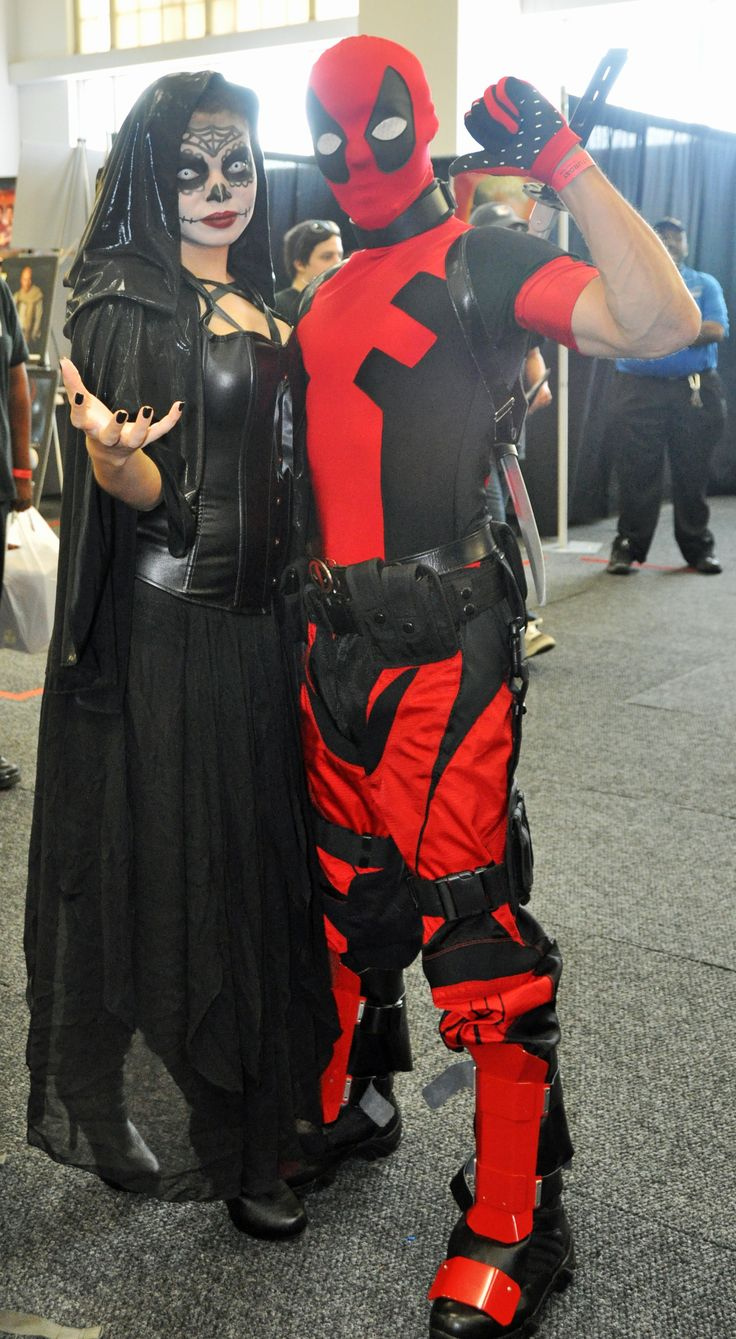 Characters: Mistress Death & Deadpool (Wade Wilson) / From: MARVEL Comics 'Deadpool' / Cosplayers: Unknown / Photography: Michael Rogers