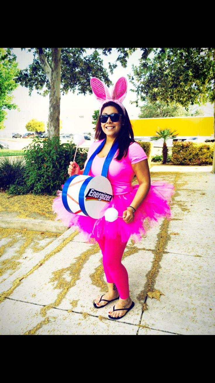 Diy Halloween energizer bunny costume