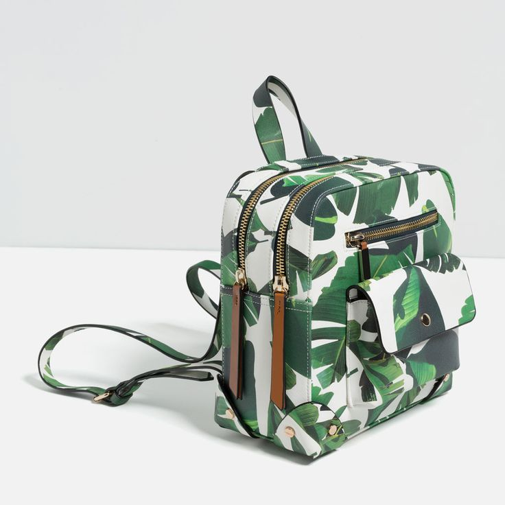 Image 4 of PRINTED BACKPACK from Zara