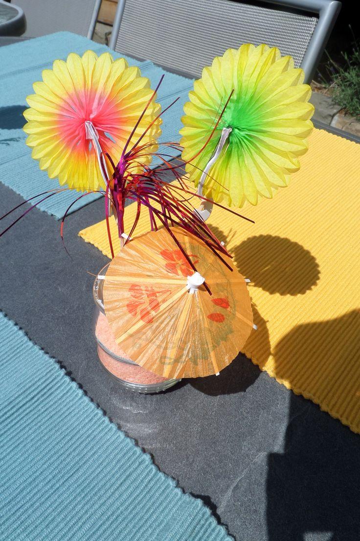 Tafeldecoratie - zomers feestje