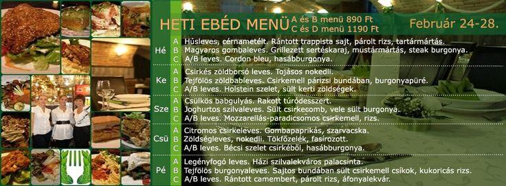 Babér Bisztró Étterem Ideális Rendezvényhelyszín! Minden nap minőségi, változatos ebéd menü! A menü, B menü, Prémium menü, XXL menü, Vegetáriánus menü. Ingyenes ebéd házhoz szállítás a VI.-VII. kerületben. Rendelés: 720-3328, +36 30 9000 550 www.baberbisztro.hu www.facebook.com/baberbisztro Like, ha tetszik! Köszönjük!