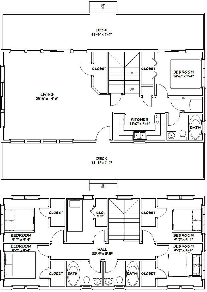102 best floor plans images on pinterest floor plans for 16x32 2 story house plans