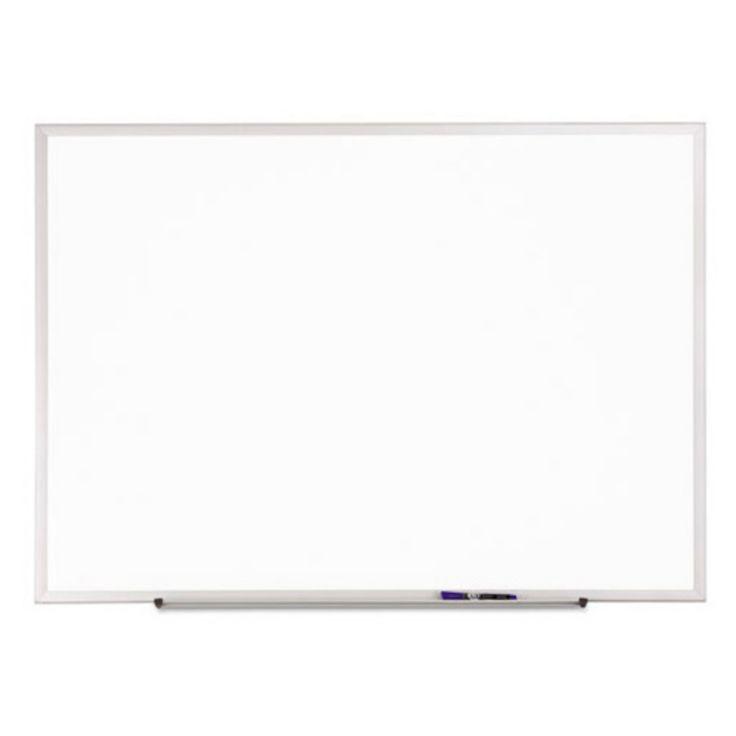 Quartet 36 x 24 in. Melamine Standard Dry Erase Board with Aluminum Frame - QRTS533
