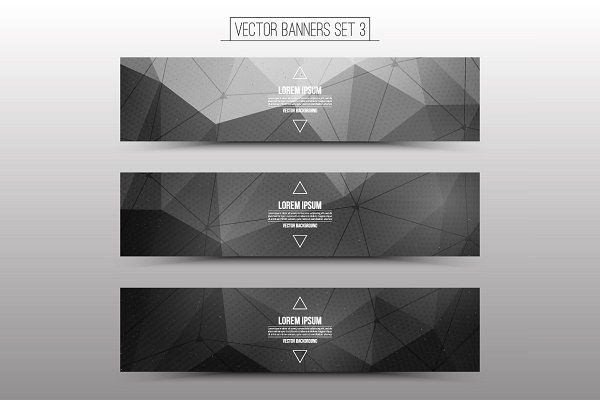 Technological Vector Web Banners – Web Elements – 3