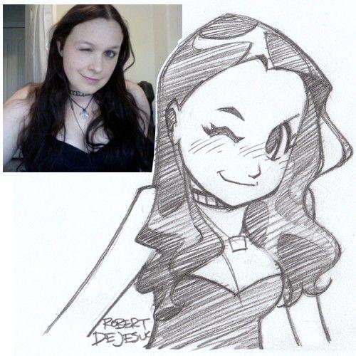 how to draw like robert dejesus